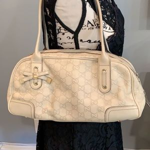 GUCCI GG Pattern Tote Bag Authentic